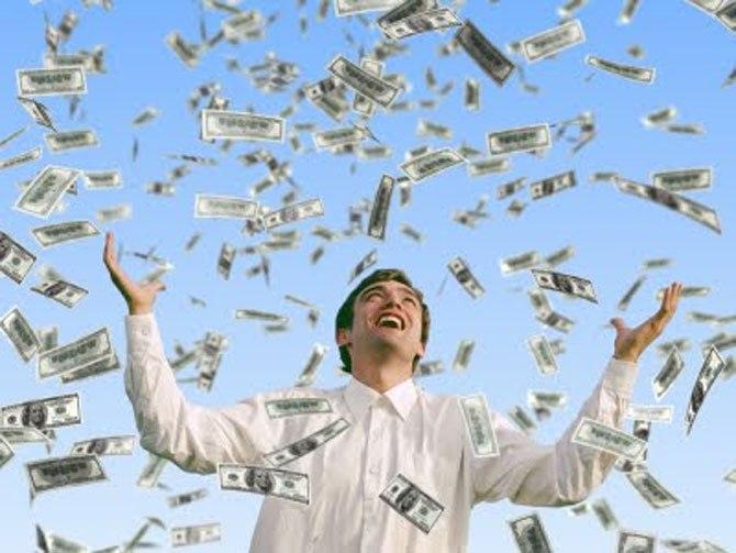 mimpi menjadi kaya raya